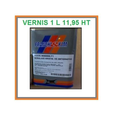 Vernis acrylique ACRIGLASS 1 litre